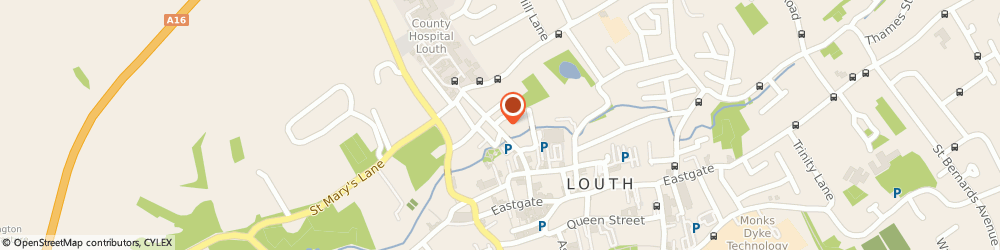 Route/map/directions to M.Goys Taxis Louth, LN11 0EQ Louth, 38 Broadbank