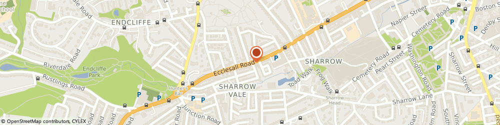 Route/map/directions to Polish Catholic Centre, S11 8PY Sheffield, 518-520 ECCLESALL ROAD