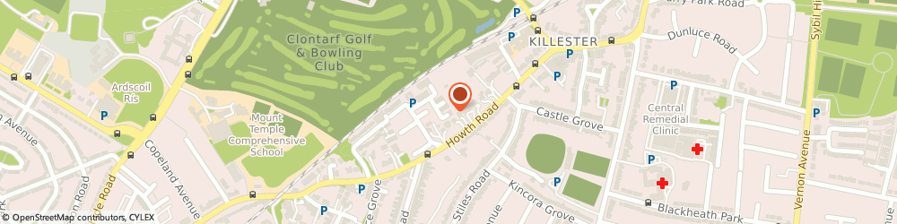 Route/map/directions to FAKRO IRELAND LIMITED, D03 Dublin, 181 Howth Road, Killester