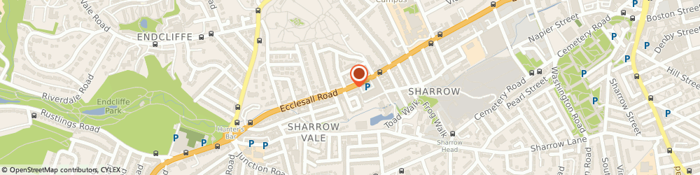 Route/map/directions to Age UK Shop Ecclesall Road, S11 8PP Sheffield, 463 Ecclesall Road
