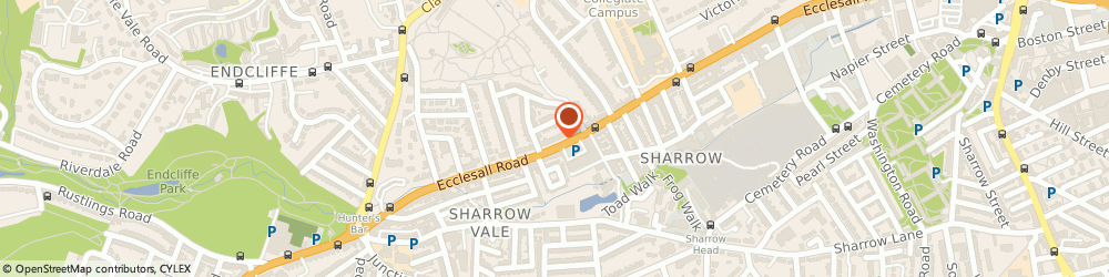 Route/map/directions to Mr John Wood Sheffield, S11 8PX Sheffield, SHEFFIELD PHYSIOTHERAPY, 476 ECCLESALL ROAD