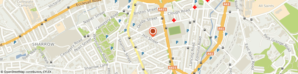 Route/map/directions to Opus Independents, S2 4SP Sheffield, 71 Hill St