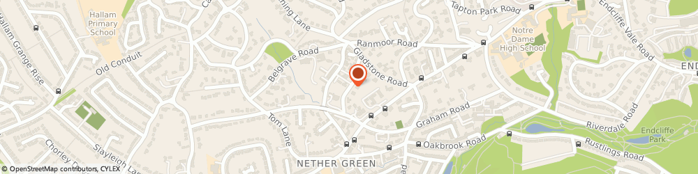 Route/map/directions to Peter Hoare & Co (Insurance Brokers) Ltd, S10 3GS Sheffield, Ranmoor House, 237 Graham Road