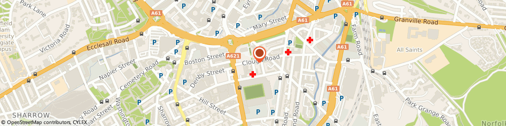 Route/map/directions to Avid Av, S1 4TE Sheffield, UNIT 3B, CHAUCER YARD, COUNTESS ROAD