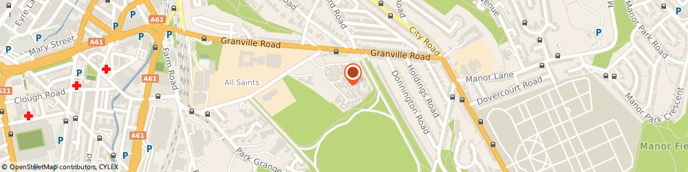 Route/map/directions to Park Student Village Sheffield, S2 2UA Sheffield, NORFOLK PARK ROAD