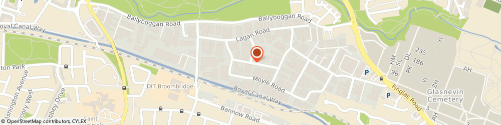Route/map/directions to H. R. MOONEY LIMITED, D11 Dublin, 49A, Nore Road, Dublin Industrial Estate, Glasnevin