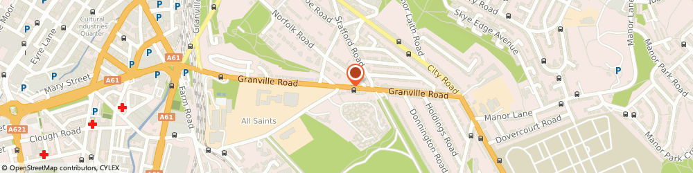 Route/map/directions to Cherry Tree Support Services Ltd, S2 2RR Sheffield, 248 GRANVILLE ROAD