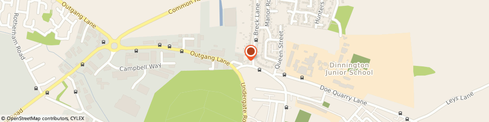 Route/map/directions to Lindrick Accountancy Services Ltd, S25 3QY Sheffield, 205 Outgang Lane
