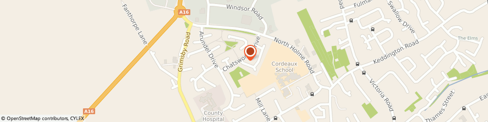 Route/map/directions to Acorn Taxis, LN11 0JD Louth, 47 Harewood Cresent
