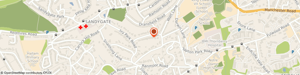 Route/map/directions to John Draper & Associates, S10 3HD Sheffield, 32 WHITWORTH ROAD