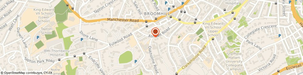 Route/map/directions to June D Gill School of Theatre Dancing, S10 3DE Sheffield, 2 Caxton Rd