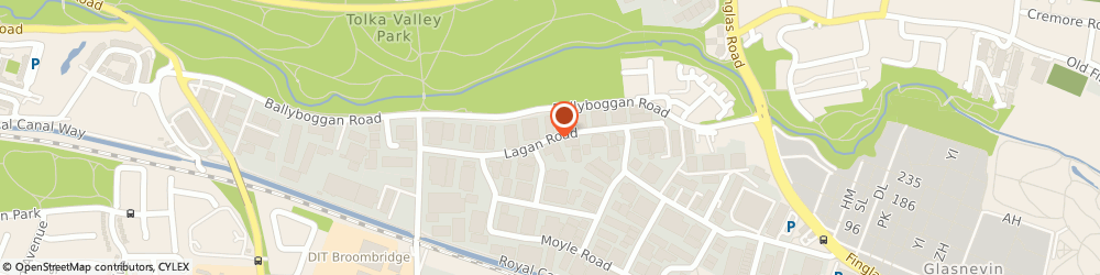 Route/map/directions to WIDE VARIETY ENTERTAINMENT, D11 Dublin, Unit 106 Lagan Road, Dublin Industrial Estate, Glasnevin