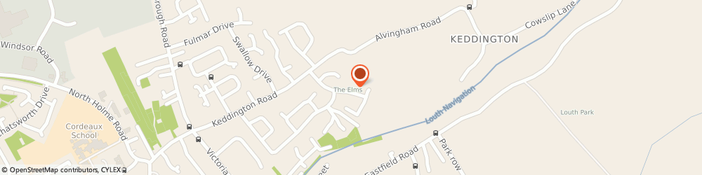 Route/map/directions to Colin's Taxi, LN11 0DG Louth, 19 Elm Dr