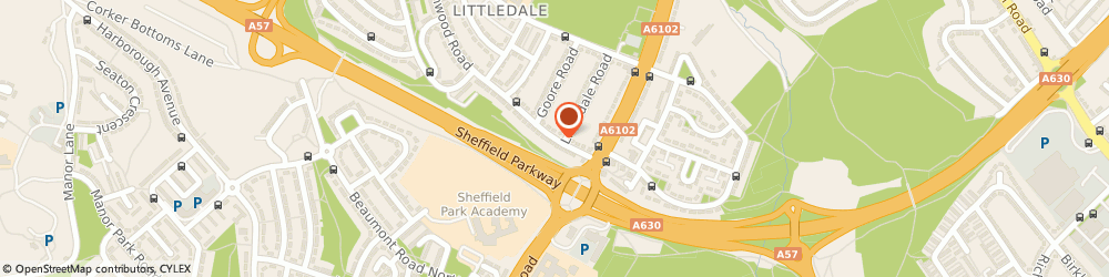 Route/map/directions to D K Social Care Advice, S9 4GS Sheffield, 21 GREENWOOD ROAD