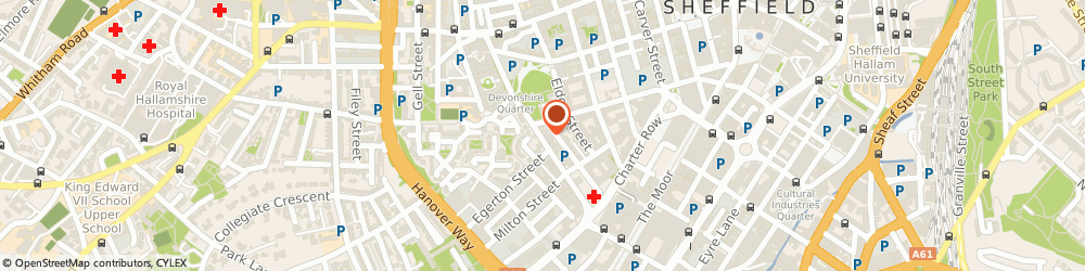 Route/map/directions to Sheafmoor Brokers Ltd, S1 4JP Sheffield, 141-143 Fitzwilliam Street