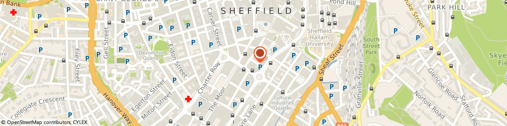 Route/map/directions to Homefinding Services, S1 2JQ Sheffield, UNION ST, REDVERS HO