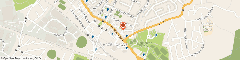 Route/map/directions to Angel Urns, M4 6DE Stockport, Unit 3, Brook Street Works