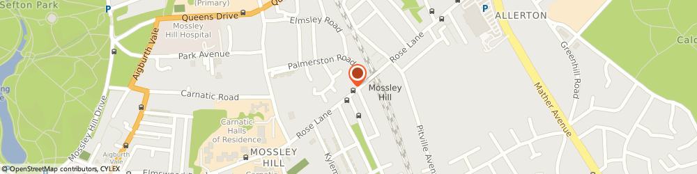 Route/map/directions to Counselling for Liverpool ©, L18 8ES Liverpool, 1 Rose Lane