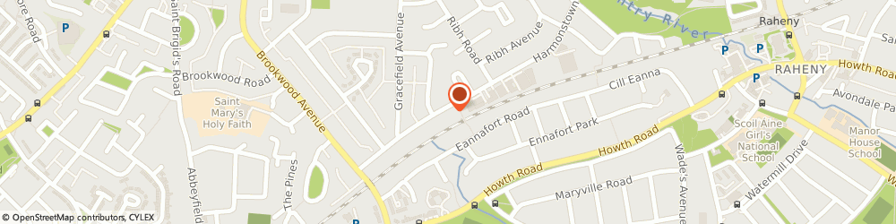 Route/map/directions to Brookwood Hair & Beauty,  Dublin, 72 BROOKWOOD RISE 5