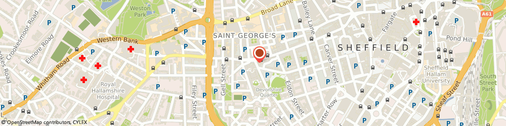 Route/map/directions to Ask4 Limited, S1 4JL Sheffield, Devonshire Green House;14 Fitzwilliam Street