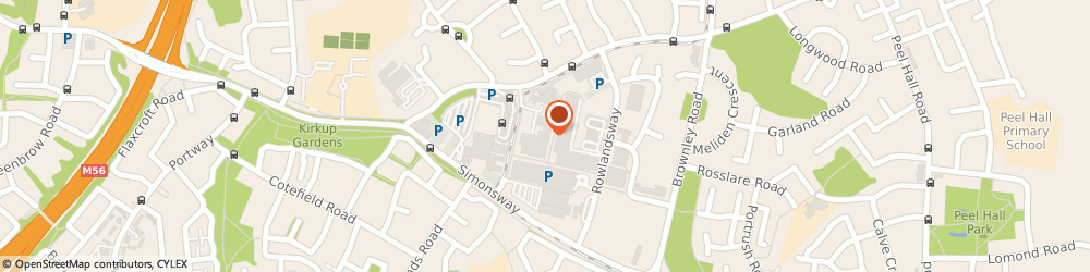 Route/map/directions to North West Jewellers, M22 5RF Manchester, 19a The Birtles Civic Centre