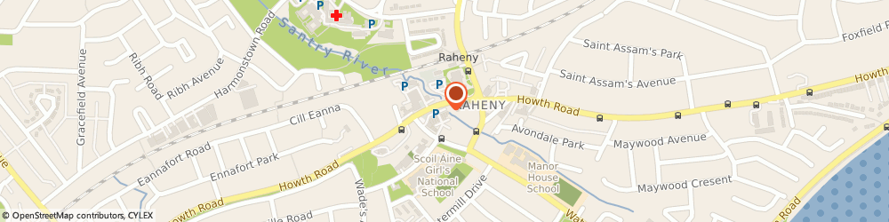Route/map/directions to B2 Hair Studio,  Dublin, 419 HOWTH RD RAHENY 5