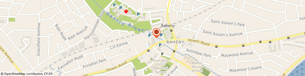 Route/map/directions to Angelz hair salon, D05 Dublin, Unit 5, Raheny Shopping Centre, Raheny, Howth Road