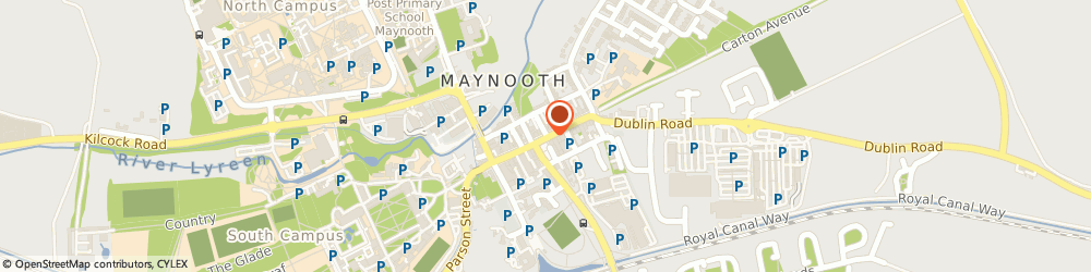 Route/map/directions to Centra - Maynooth, W23 C9F4 Maynooth, Main Street