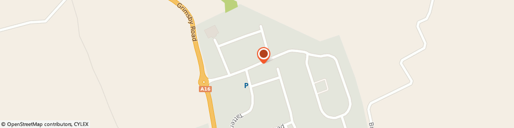 Route/map/directions to Europa Industries, LN11 0WA Louth, Bolingbroke Road, Fairfield Industrial Estate