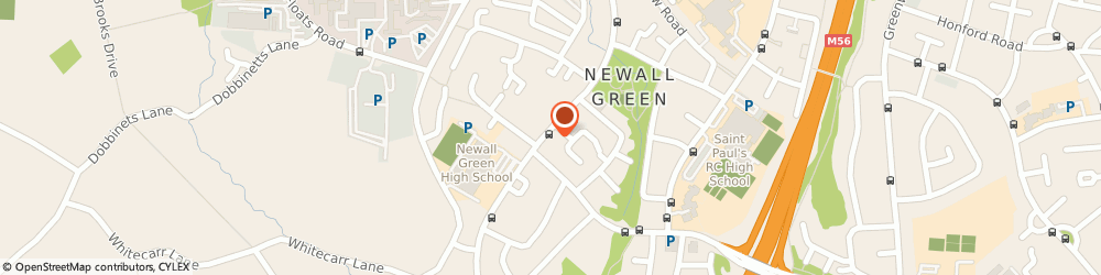 Route/map/directions to Post Office Limited, M23 2DB Manchester, 141 - 143 Greenbrow Road
