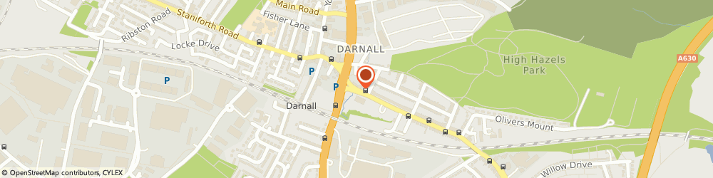 Route/map/directions to Darnall Well Being, S9 4QH Sheffield, 290 Main Road