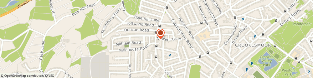 Route/map/directions to CHURCHILLS, S10 1TG Sheffield, 192 Crookes