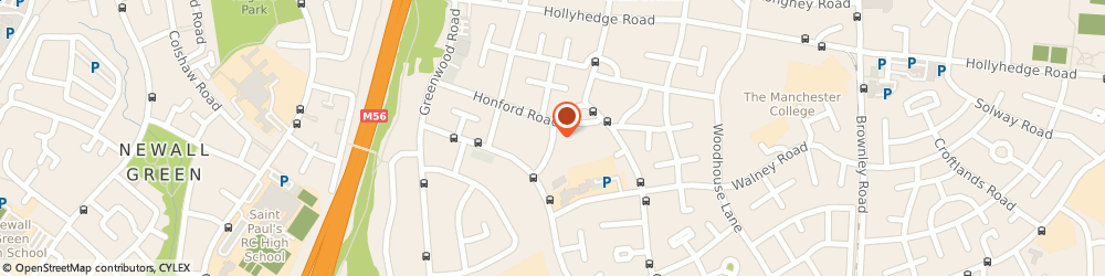 Route/map/directions to Hammer Fist Games Ltd., M22 9PH Manchester, 21 BYFIELD ROAD