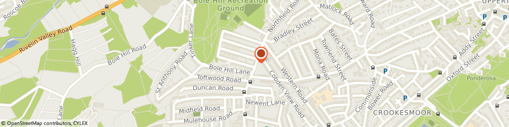 Route/map/directions to One to One Community Care, S10 1QU Sheffield, 208-210 Northfield Rd