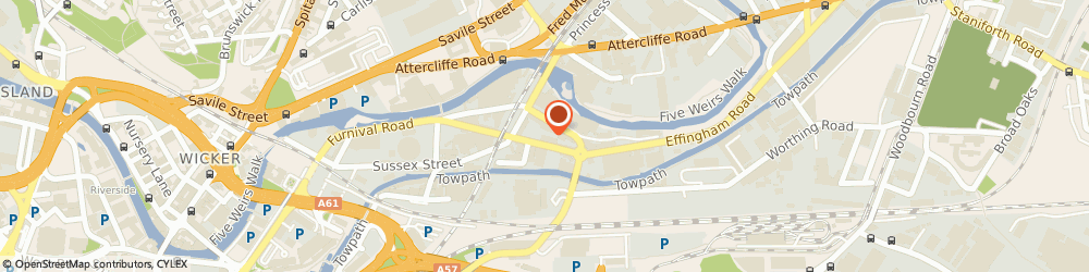Route/map/directions to MFABS Steel Fabrications, S4 7YU Sheffield, Unit 6