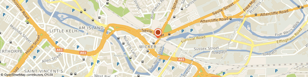 Route/map/directions to Wizard Motorcycles, S3 8GZ Sheffield, 2 Wicker Arches Walker St