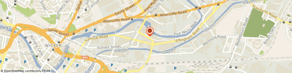 Route/map/directions to BESTFIT AUTOCARE CENTRE LIMITED of Sheffield, S4 7YU Sheffield, Foley Street
