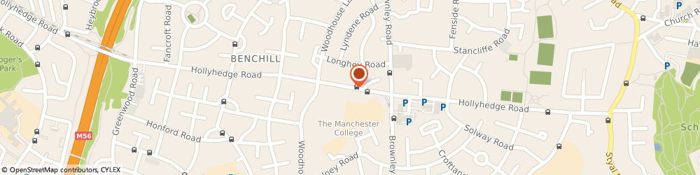 Route/map/directions to Costcutter, M22 8UE Manchester, 183 Hollyedge Road