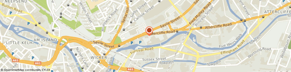 Route/map/directions to PS Assets, S4 7UD Sheffield, Albion House, Savile Street