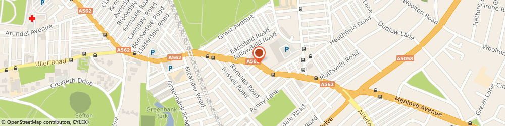 Route/map/directions to Northwest Kitchens, L15 5AJ Liverpool, 278 Smithdown Rd
