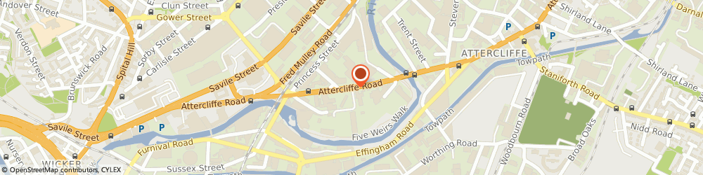 Route/map/directions to Navigator Ltd., S4 7WW Sheffield, 70-76 Attercliffe Rd