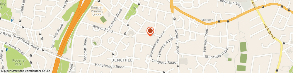 Route/map/directions to JB Couriers Ltd., M22 8LF Manchester, Benchill Road