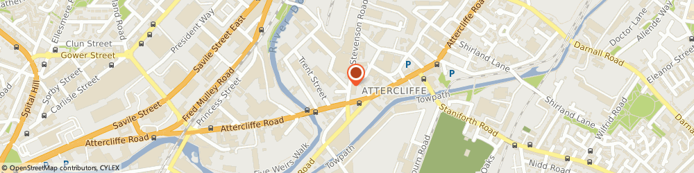Route/map/directions to Top Spot Snooker Club, S9 3XL Sheffield, 5 BIRCH RD, 9
