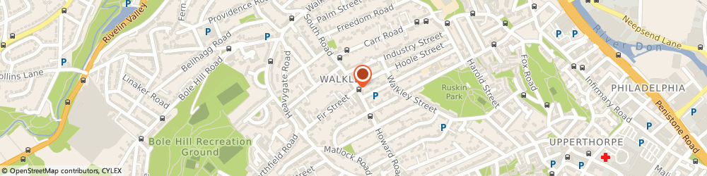 Route/map/directions to Walkley Television Service, S6 3TA Sheffield, 259 South Road