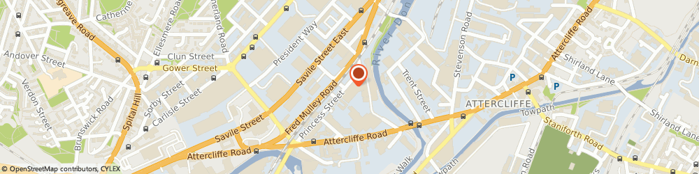 Route/map/directions to a b C Data Recovery Ltd, S4 7WB Sheffield, 204B, Royds Mill, Windsor Street