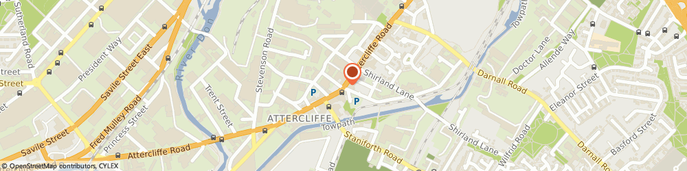 Route/map/directions to Staveley Insurance Services, S9 3QS Sheffield, 620 Attercliffe Road