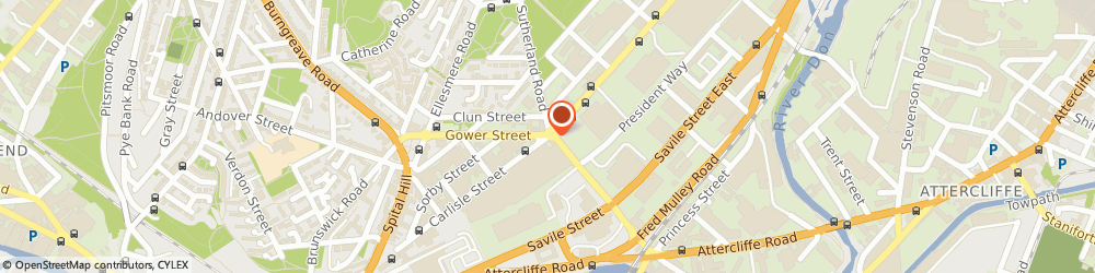Route/map/directions to Johnstone's Decorating Centre, S4 7LJ Sheffield, 145-147 Carlisle Street