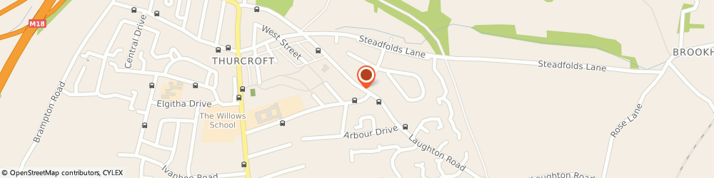 Route/map/directions to Mini Bus Services, S66 9LP Rotherham, 48a Laughton Rd