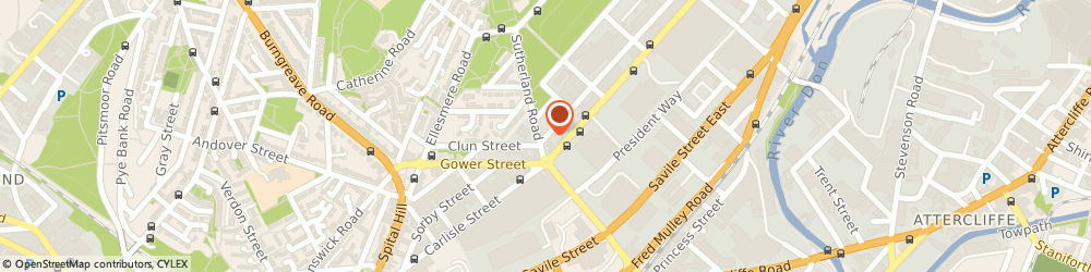 Route/map/directions to Switchstance, S4 7QD Sheffield, 2 Forncett Street