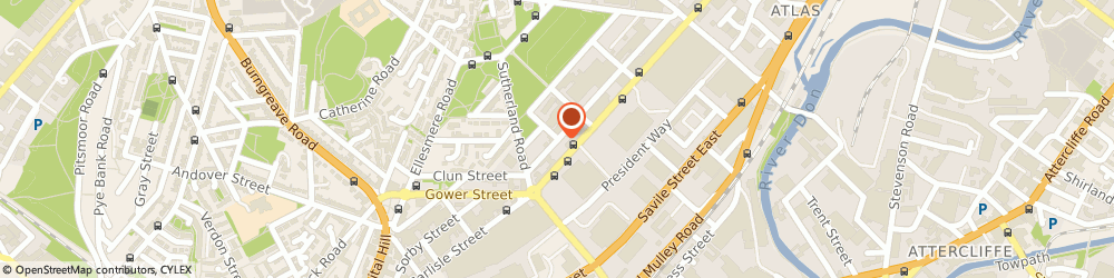 Route/map/directions to Granite & Marble Designer Surfaces, S4 7QG Sheffield, 179 Forncett St
